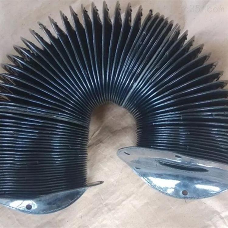 金属法兰盘连接丝杠防护罩