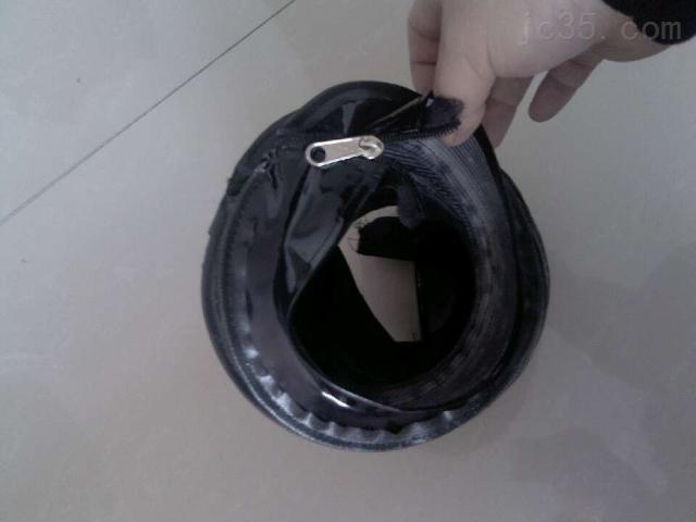 拉链式油缸伸缩护罩