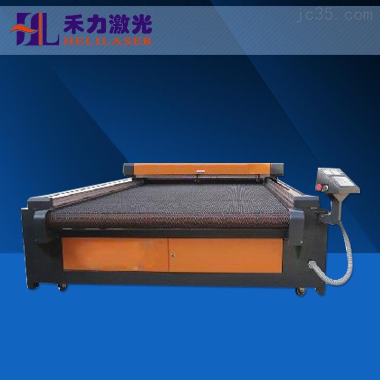 深圳禾力供应【河北】地区HL-1610机型双头毛毡餐垫激光切割机