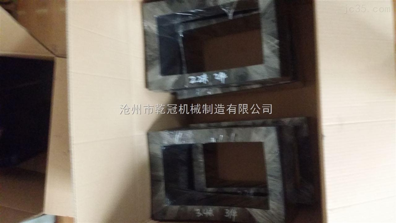 苏州升降平台方形防护罩 升降平台防尘罩