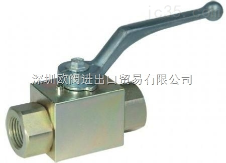 进口螺纹高压球阀 焊接高压球阀 DN40高压球阀