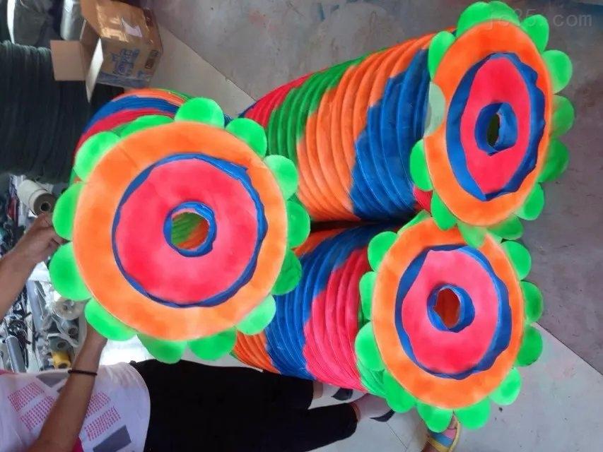 德玛供应丝绸布水管舞道具 舞动轻便灵活 耐磨耐用