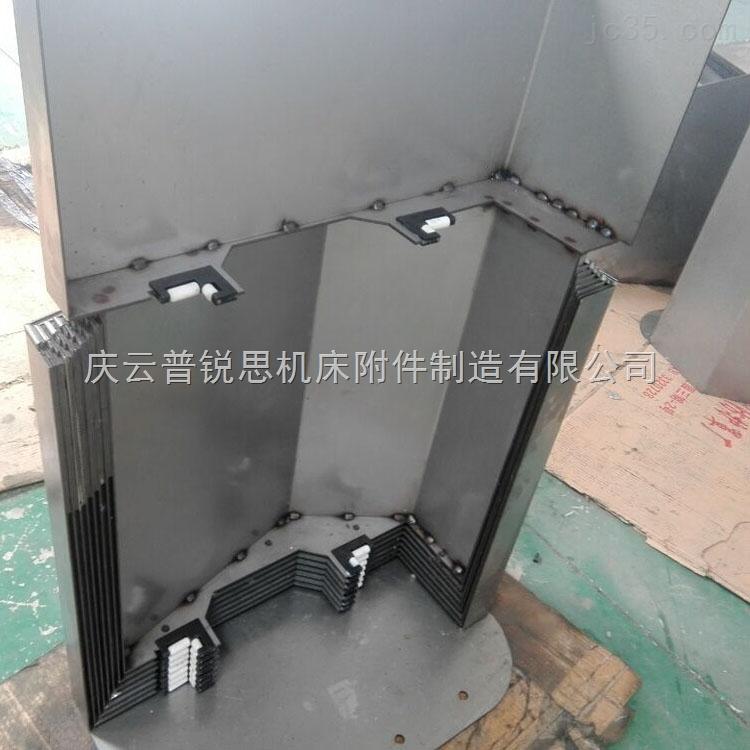 850CNC加工中心钢板防护罩