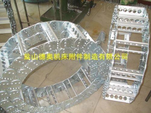 重庆保护线缆油管钢制拖链