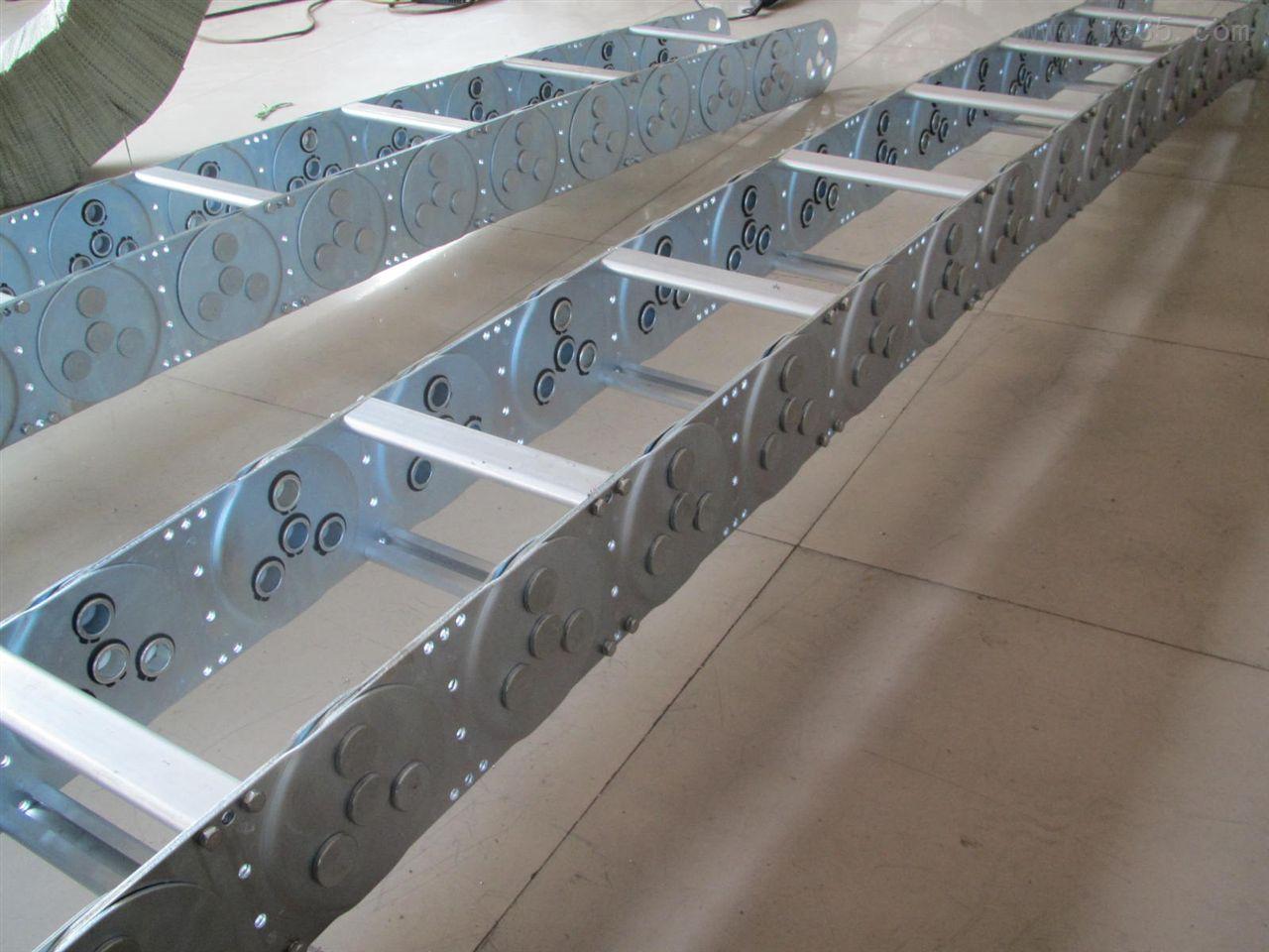 特供亚明铣床TL系列钢制拖链
