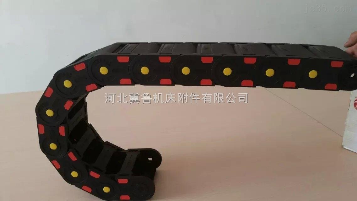专业供应抗氧化超静音尼龙塑料拖链