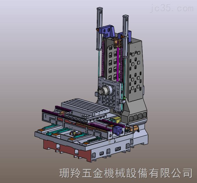 SLH-1590臥式加工中心光机