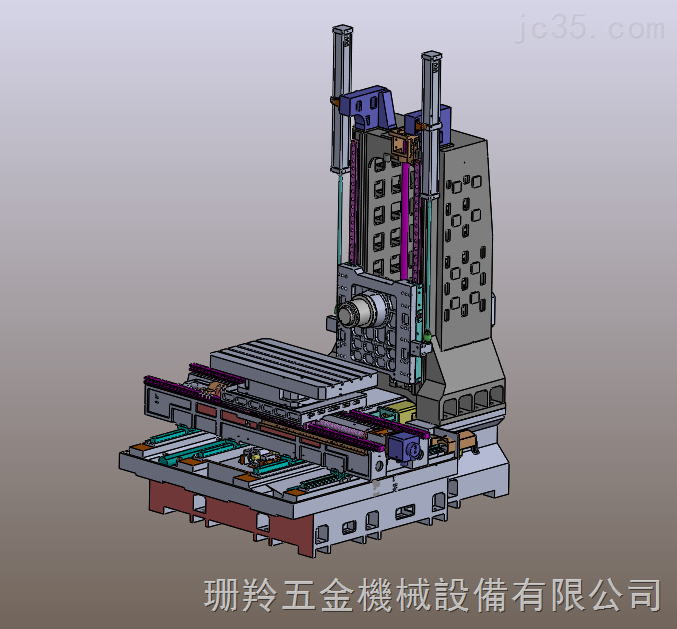 SLH-1590臥式加工中心機