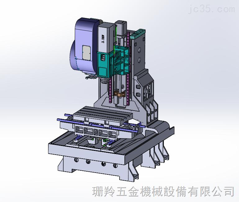SLV-640立式加工中心機