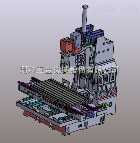 SLV-1890立式加工中心光机