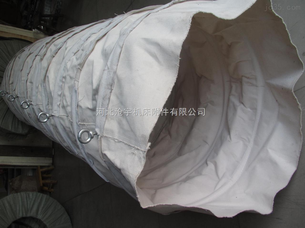 下料口帆布输送布袋工业用