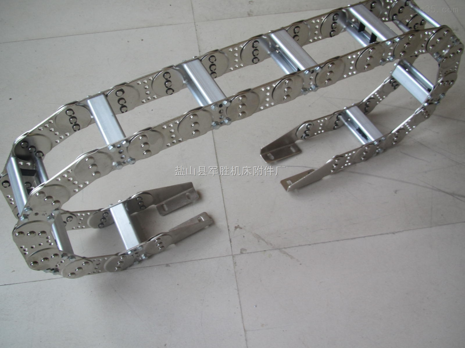 供应机械工程线缆穿线钢制拖链