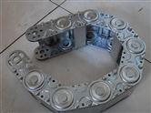 生产新型耐电压加固型穿线机床钢铝拖链