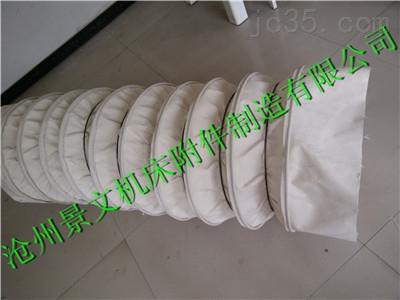 四川白色帆布加厚水泥输送布袋更耐用