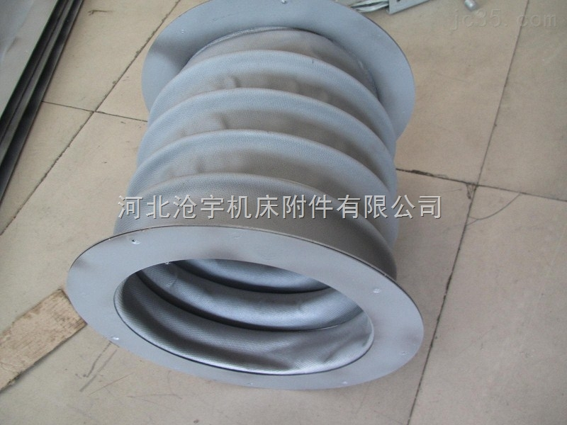 专业供应法兰式伸缩丝杠防尘罩