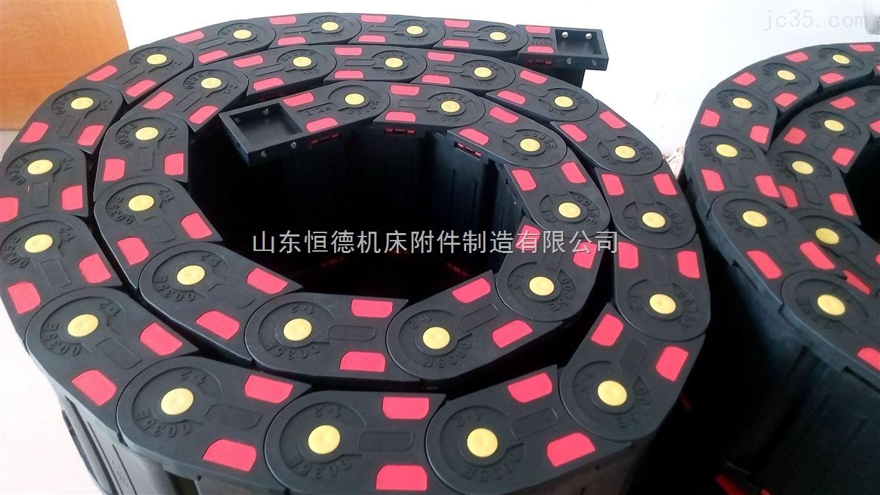 塑料拖链噪音低,适用于各种机械设备