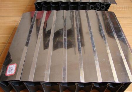 风琴式不锈钢片盔甲防护罩