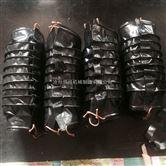 开口式伸缩油缸防护罩 开口式耐温油缸防护套