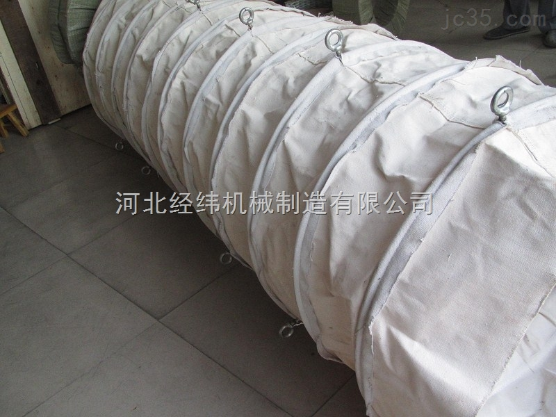 专业生产耐磨损水泥伸缩帆布布袋精品上市