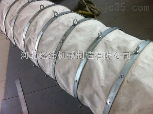 钢丝骨架式耐磨帆布软连接