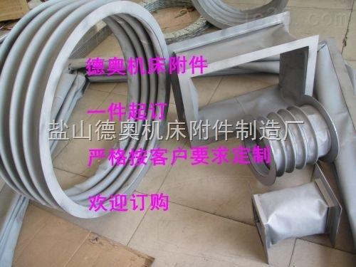 承压型耐高温伸缩软连接,耐磨损型耐高温伸缩软连接