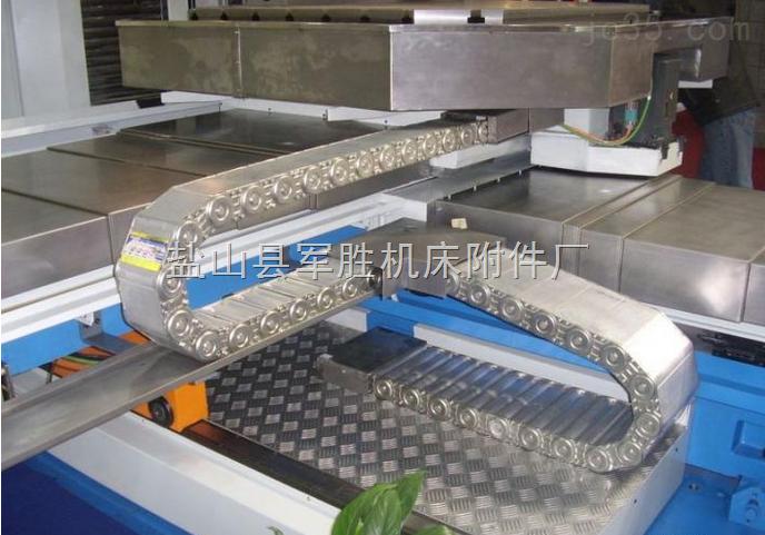 工程机械设备线缆走线钢铝拖链厂家批发