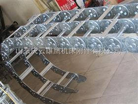 TL125供应分开式不锈钢拖链,打孔式钢制拖链,桥式钢制拖链