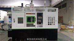 HTP08-380豪特曼高精密桁架机械手式斜床身数控车床*