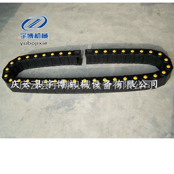 供应桥式电缆拖链  工程塑料拖链应用 TL油管尼龙拖链
