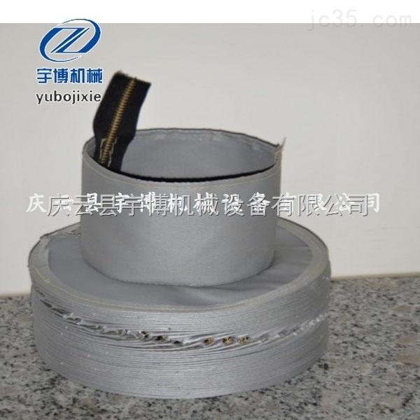 销售生产缝制式高温拉链防护罩 帆布缝制防尘罩