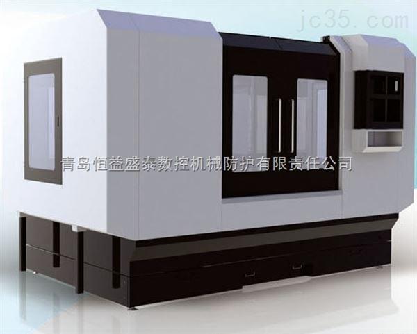 青岛机床附件制作机床外防护钣金外壳美观实用