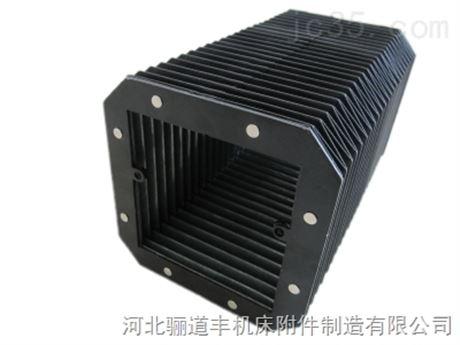 上海松口雕刻机耐酸碱耐高温风琴防尘罩