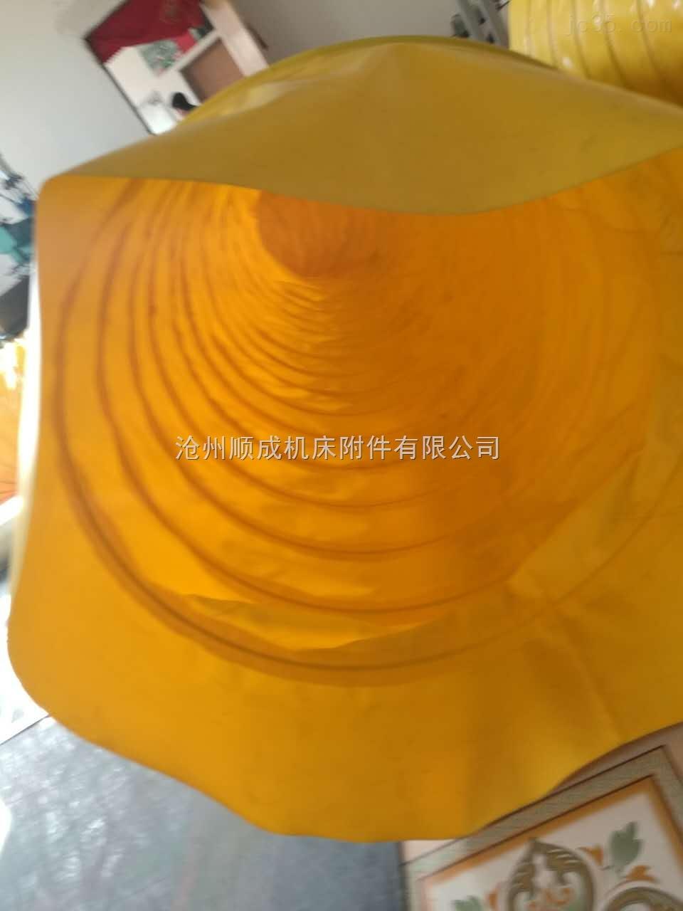 耐高温硅胶布伸缩管