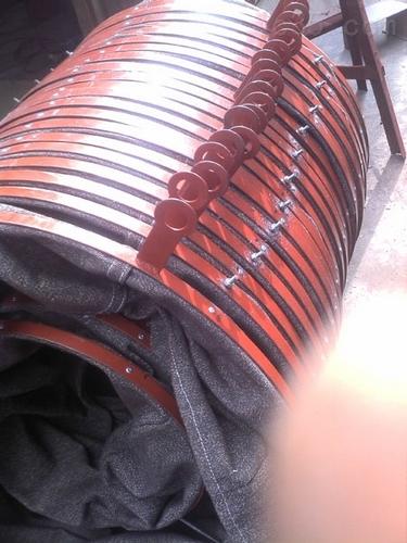 吊环式帆布保温软连接 升级换代帆布保温软连接保温持久