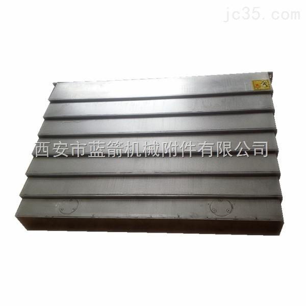 倾斜型钢制导轨防护罩