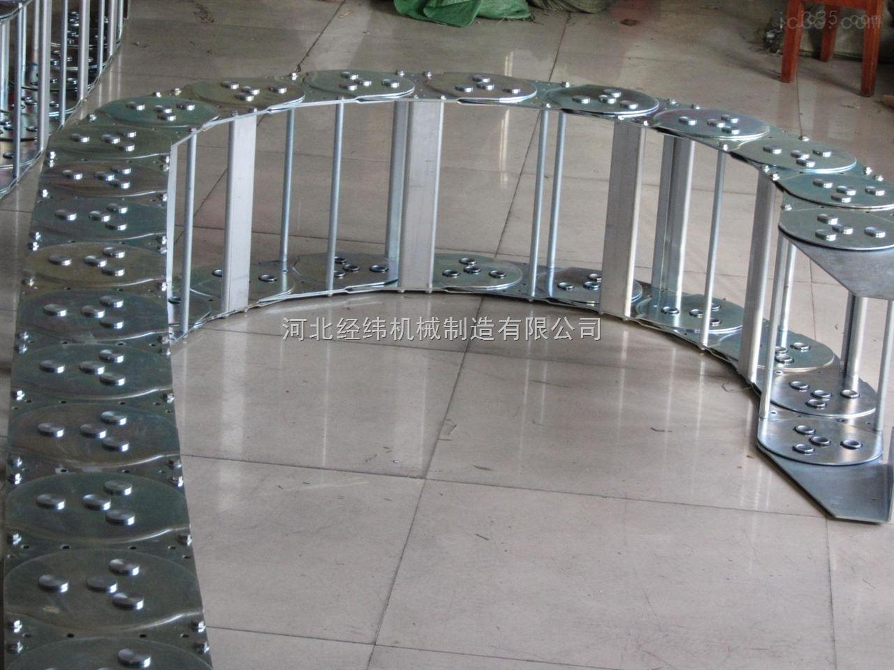框架式金属电缆油管桥式拖链