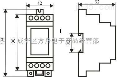 fzl系列单相交流电流(电压)变送器_中国机床商务网