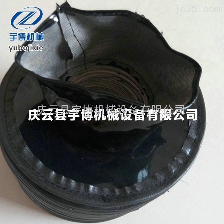 缝制帆布拉链式防护罩 泰安伸缩罩 导轨保护罩