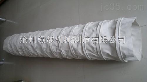 包装设备专用帆布通风软连接,帆布伸缩通风管