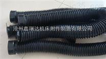 机床圆形伸缩式丝杠防护罩