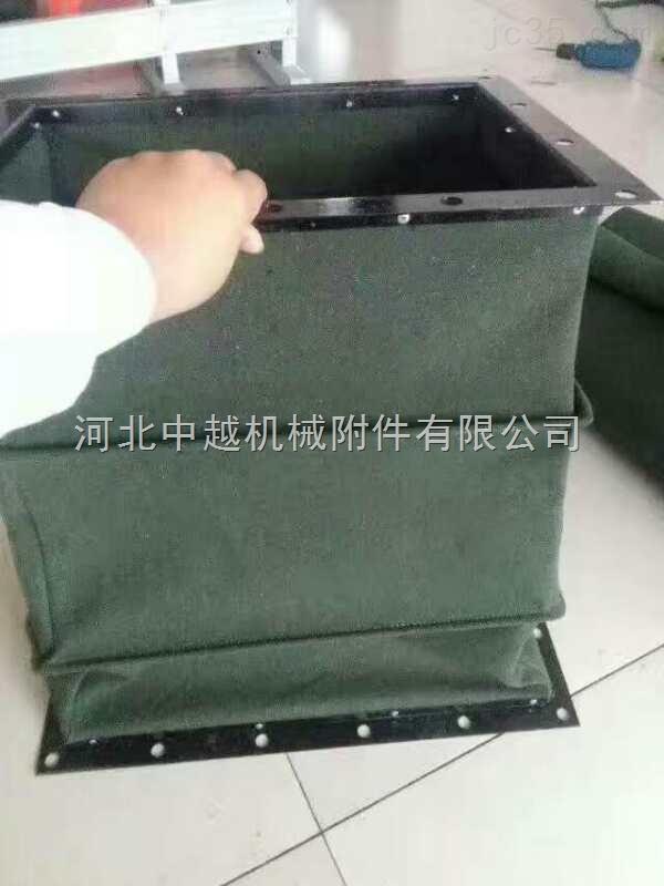中越供应防尘密封帆布软连接