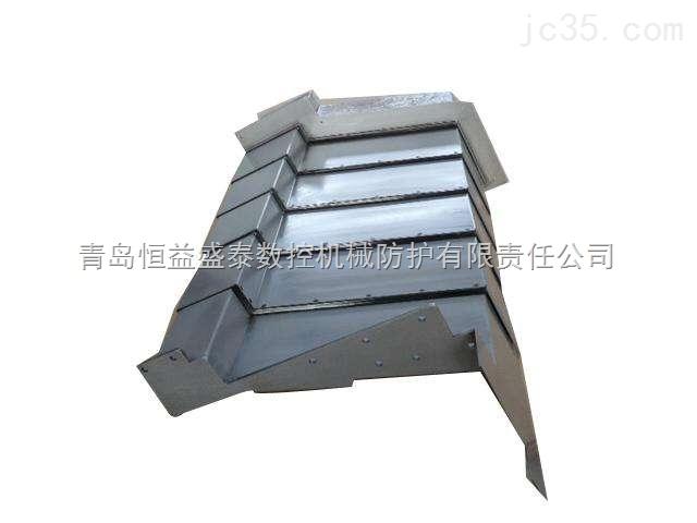 大型机床伸缩不锈钢防护罩