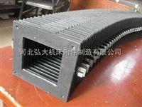 沧州原加工厂定制柔性风琴机床导轨防护罩