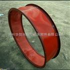 耐腐蚀红色硅胶软连接