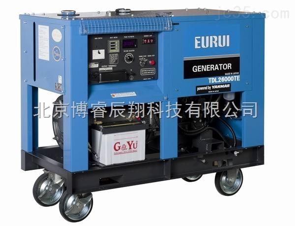 进口柴油三相23kw发电机tdl26000te