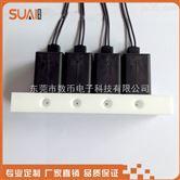 耐腐蚀电磁阀组微型四联排阀24v 数币电磁阀价格便宜图片
