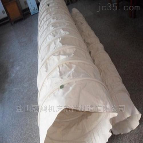 吊环式水泥伸缩布袋防护罩