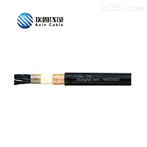 FMSGSGO 对绞分总屏编织屏蔽CE船用通信电缆