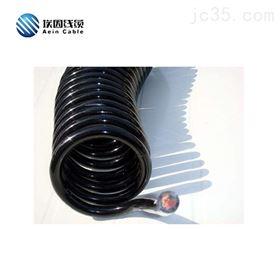 埃因螺旋弹簧电缆聚氨酯耐酸碱抗水解