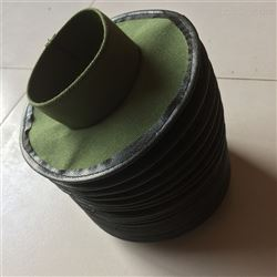 伸缩式缝制气缸防尘罩